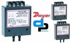 Dwyer Series 616C -2 Differential Pressure Transmitter Range 0-6 Inch wc