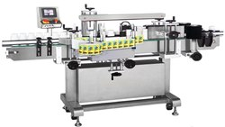 Semi Automatic Round Bottle Labeling Machine