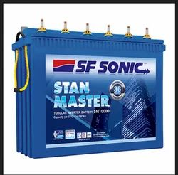 SF Sonic Stan Master- STBL Tubular Inverter Battery SM8500 150Ah, Warranty: 4 years
