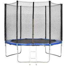 Kids Jumping Trampoline With Side Safety Net