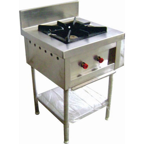 1 SS Single Burner Gas Range, For Commercial Kitchen