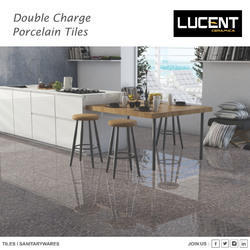 Double Charge Polished Tiles