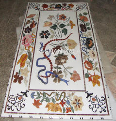 Inlay Marble Table