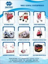 Range of Light Construction Equipments