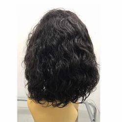 Black Lace  Back Wig