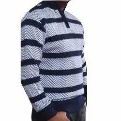 Woolen Male Mens Full Sleeves Sweater