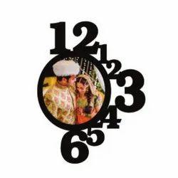 U121 Sublimation Wooden Clock Wall Frame