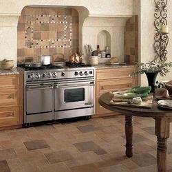 Ceramic Kitchen Floor Tile, Thickness: 6 - 8 mm