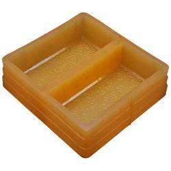 Rubber Rectangular Brick Paver Mould