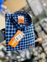 Superdry Twill Check Mens Shirt