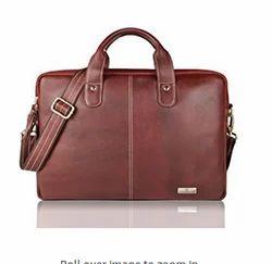 Leaderachi Brown Briefcase Bag
