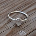 925 Sterling Silver Gemstone Herkimer Diamond Ring