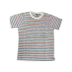 Karan Cotton Kids Stripped School T Shirt, 18