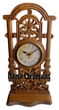 Wooden Hand Carved Wall Clock