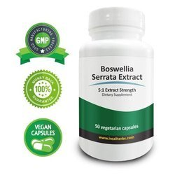 Ayurleaf Herbals Boswellia Serrata Extract, Pack Size: 60 Caps/bottle, Packaging Type: Caps