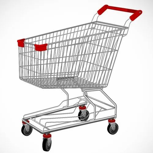 Krishna Wire Industries Contemporary Designs Departmental Store Shopping Cart