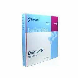 Everolimus (5mg) Evertor 5 Tablet