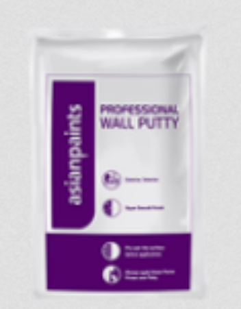 Asian Paints Acrylic Wall Putty Packaging Size 20 Kg Pronomina Store