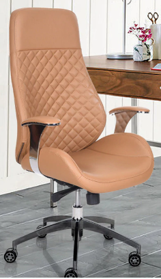 Fort Office Chair In Beige Colour By Noble Enterprises
