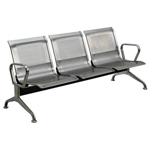 Exceptional SS 3 Seater Waiting Chair