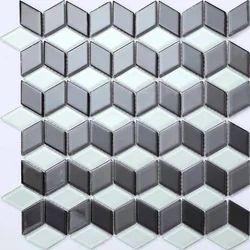 Stainless Steel 3D Silver Designer Sheet