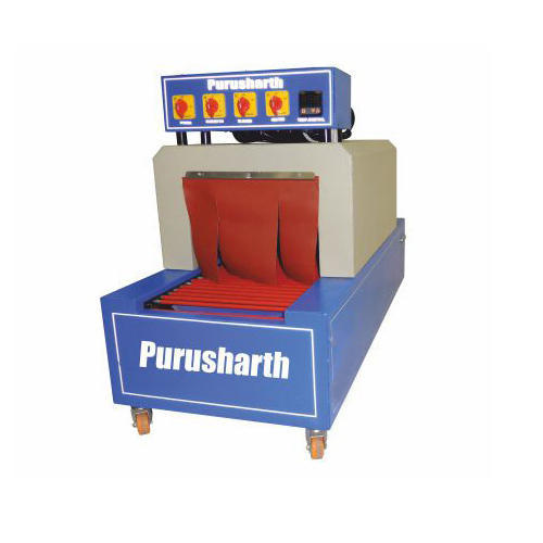 Mild Steel Semi Automatic Shrink Wrapping Machines