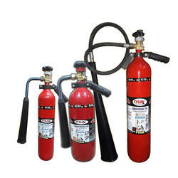 Carbon Di- Oxide Gas Portable Fire Extinguisher