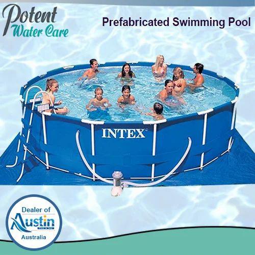 Pre-Fabricated Swimming Pool - Fiberglass Swimming Pool ...
