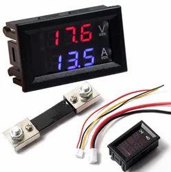 0.28 inch Digital Voltmeter Ammeter DC 100V 50A LED Amp Volt Meter With Shunt