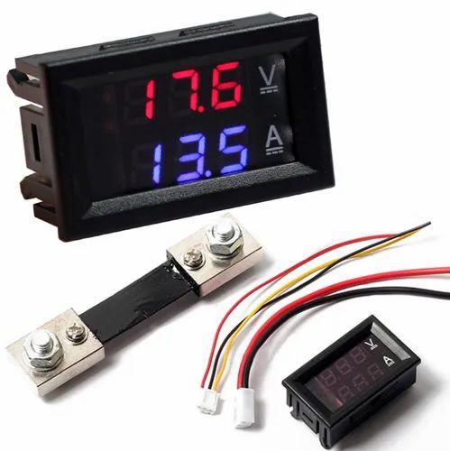 0 28 Inch Digital Voltmeter Ammeter Dc 100v 50a Led Amp Volt Meter With Shunt At Rs 400 Piece Digital Ammeter Id 22288909888