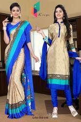 Uniform Saree Salwar combo for showroom