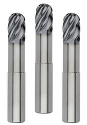 Solid Carbide Ball Nose End Mills