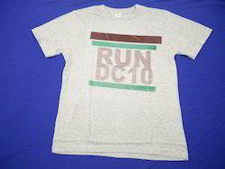 Small Cotton Printed Mens O Neck T- Shirt