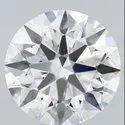 4.06 Ct Gia Certified Round Brilliant Cut Natural Diamond D FL EX EX EX S
