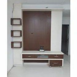 Kaka Rectangular PVC TV Unit, For Home, Hotel