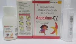 Cefpodoxime Proxetil 50 mg Clav 31.25 with Water