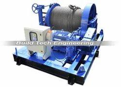 10 Ton Industrial Winch Machine