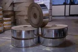 Silver,Green Plain SILVER PAPER ROLL, For Thali Making Raw Material, Paper Grade: Brown Kraft