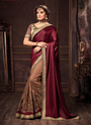 Silk Designer Embroidered Work Saree
