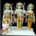 Marble Ram Sita Laxman and Hanuman Statue