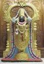 Black Marble Tirupati Statue