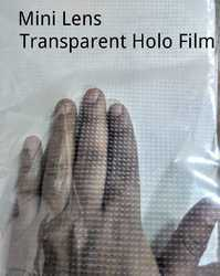 Transparent Holographic Film For Printed Surface