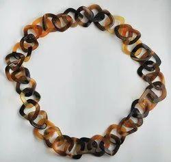 Royal Artisans Natural Buffalo Horn Necklace