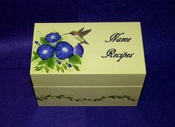 Wooden Marriage Box