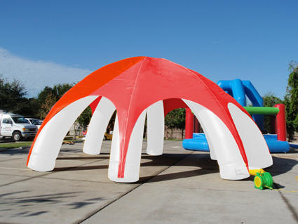 Red And White Inflatable Tent For Outdoor & Red And White Inflatable Tent For Outdoor | ID: 14571609130