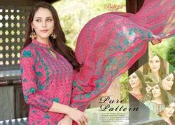 Cotton RCPC Printed Designer Belliza Suits