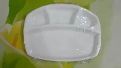 Acrylic Compartment Dinner Plate