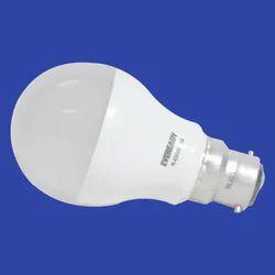 Round Cool daylight Eveready LED Bulb, Base Type: B22