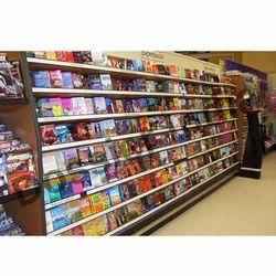 6x3 Feet Supermarket Book Racks
