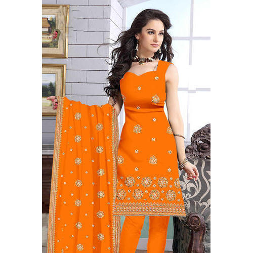 92f93955f5 Party Wear Sleeveless Salwar Suit, Semi-stitched, Rs 1200 /piece ...
